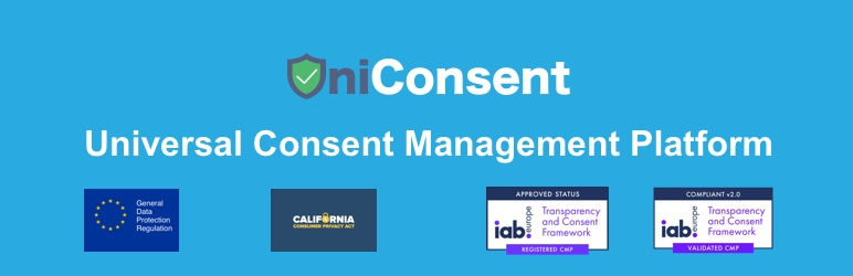 GDPR / CCPAのUniConsentCookie Consent CMP