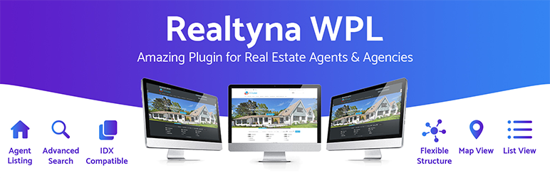 Realtyna OrganicIDXプラグイン+ WPL Real Estate